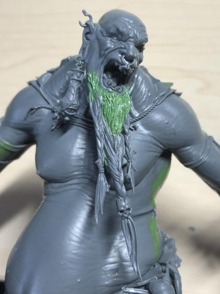 Mega Gargant model with custom beard