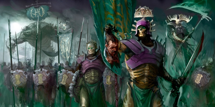 Artwork for Ossiarch Bonereapers from Games Workshop