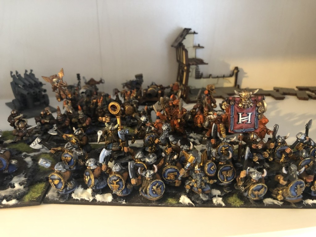 Painted Dwarf Army