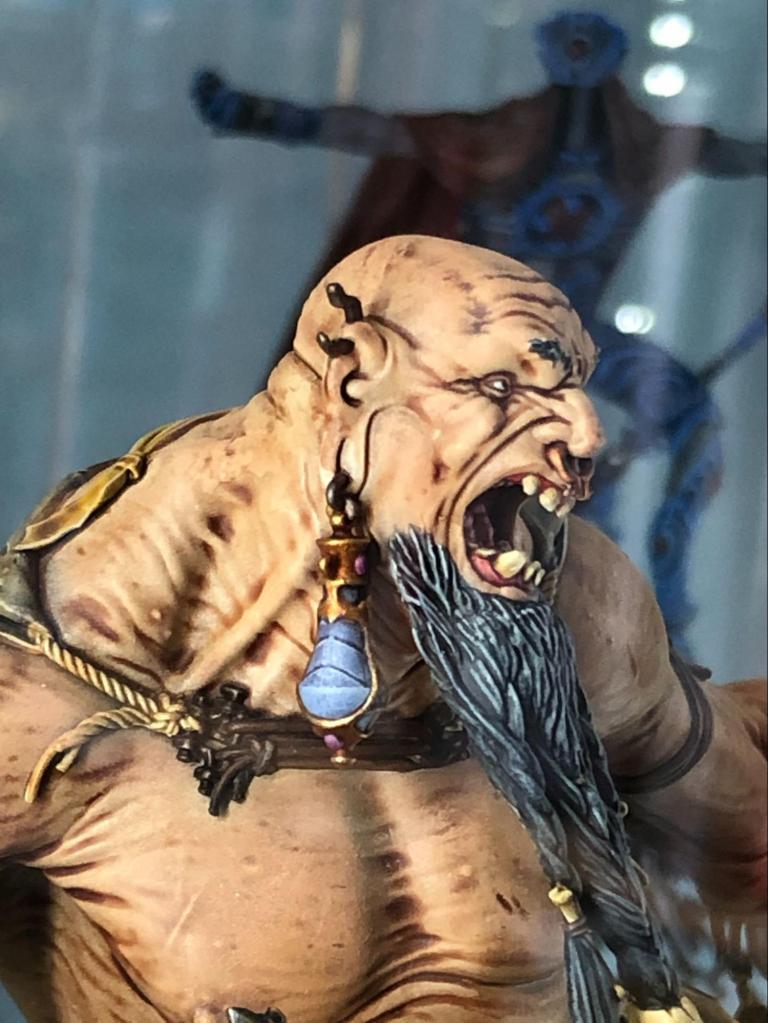 Painted Gargant miniature for Warhammer: Age of Sigmar