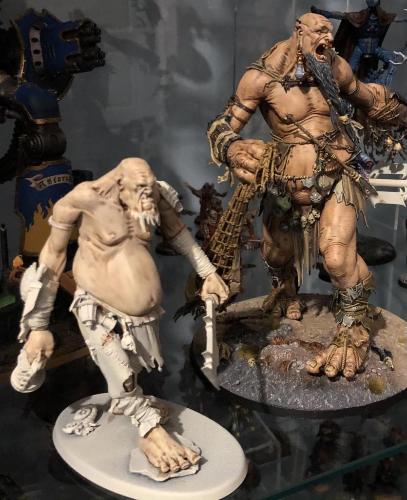 Gargant and Mega Gargant skin comparison