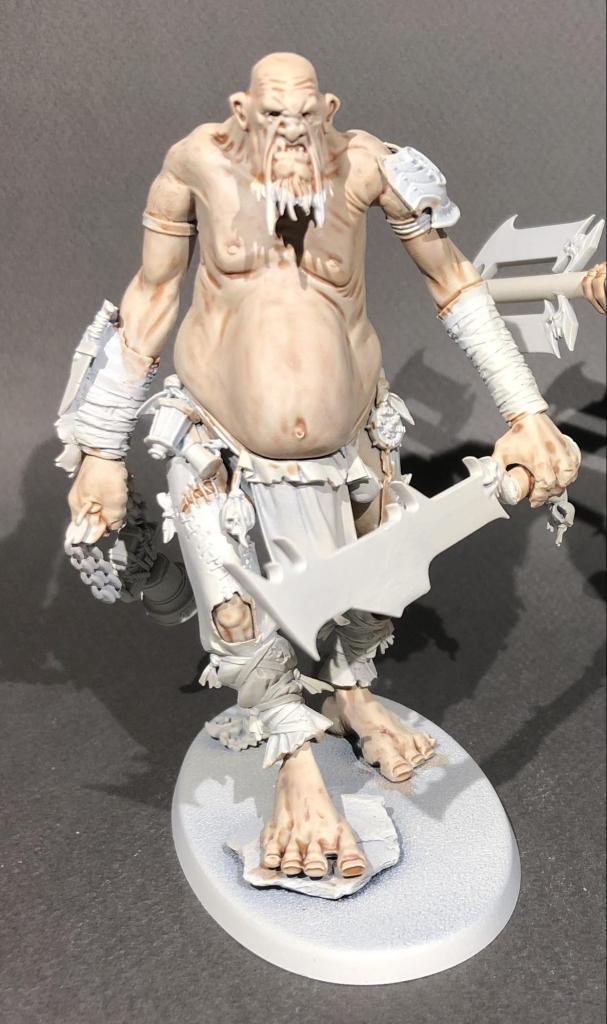 Part painted mancrusher gargant for Warhammer: Age of Sigmar