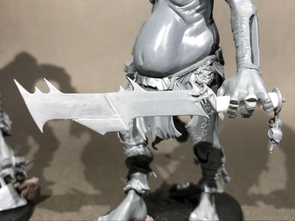 Converted gargant sword for Age of Sigmar