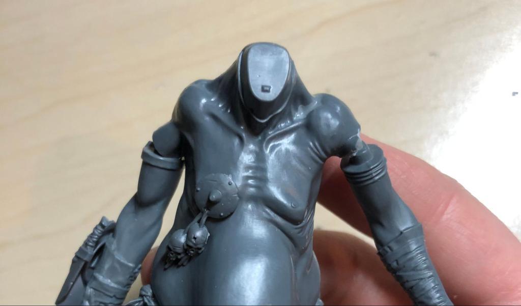 Warhammer gargant torso being converted
