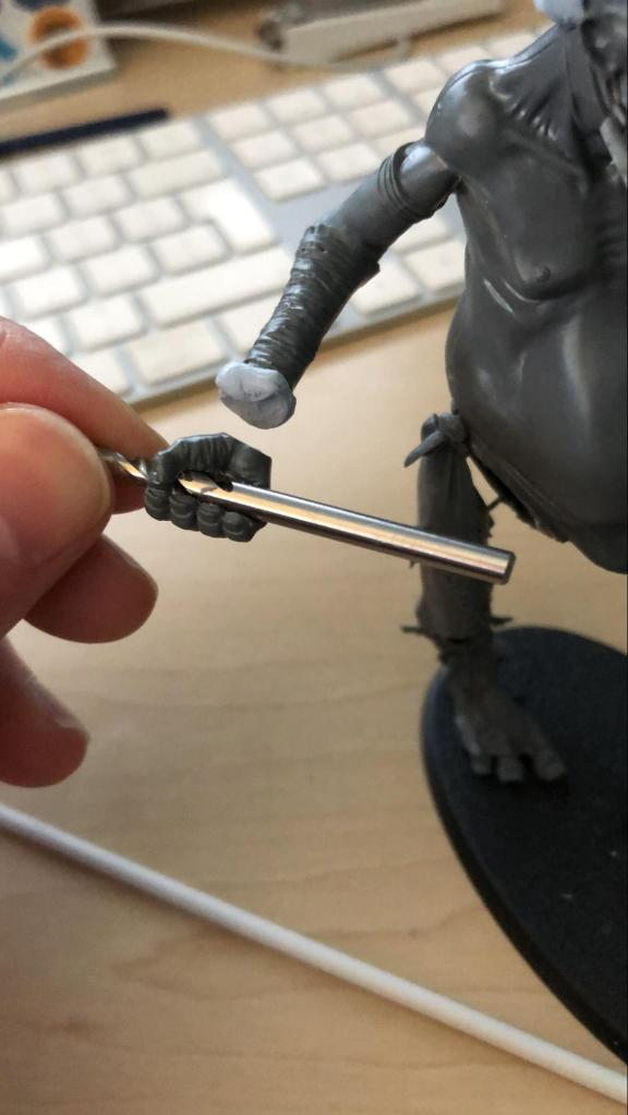 Gargant being custom-built