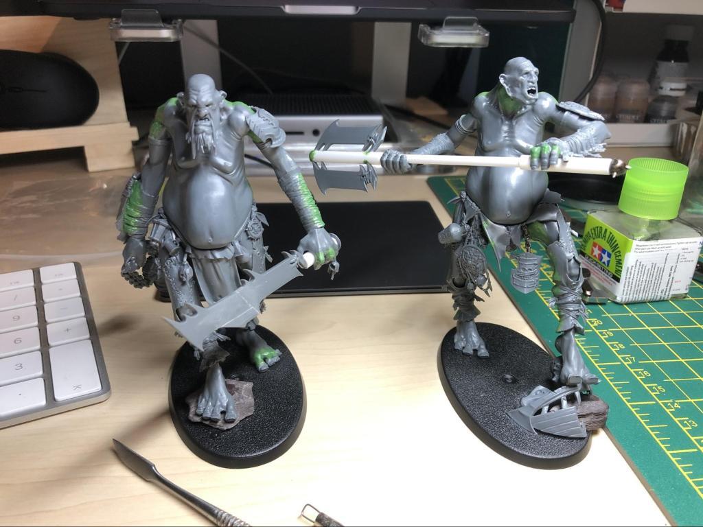 two custom built gargants