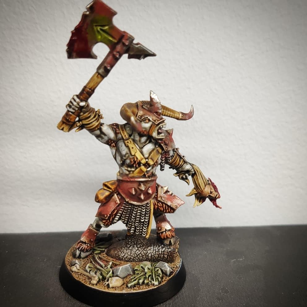 Warhammer Age of Sigmar beastman