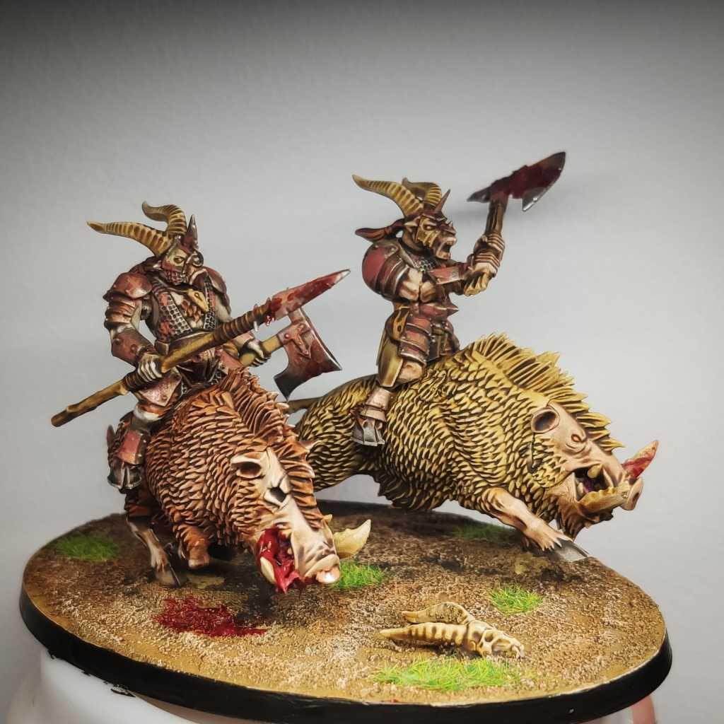 Converted Beasts of Chaos chariot