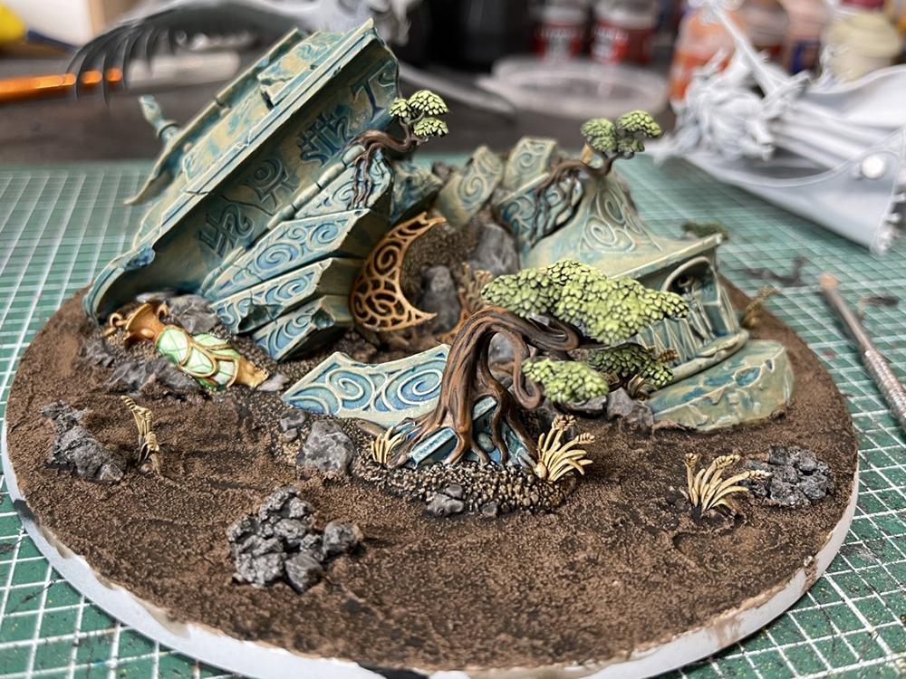 Teclis base painted