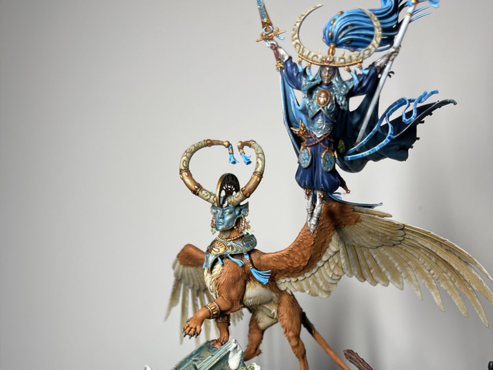 Warhammer Age of Sigmar Teclis fully painted